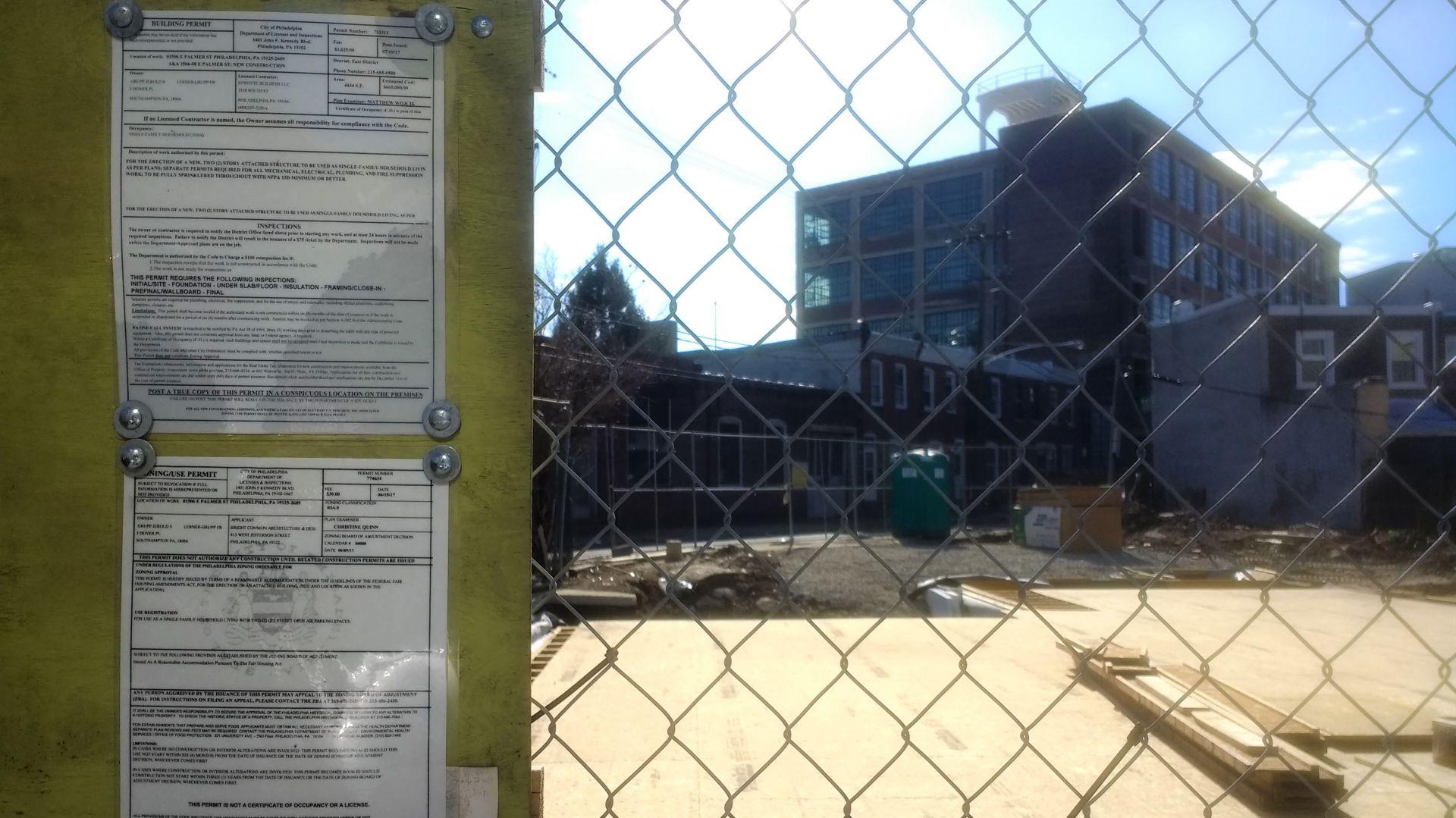 Philadelphia building permit