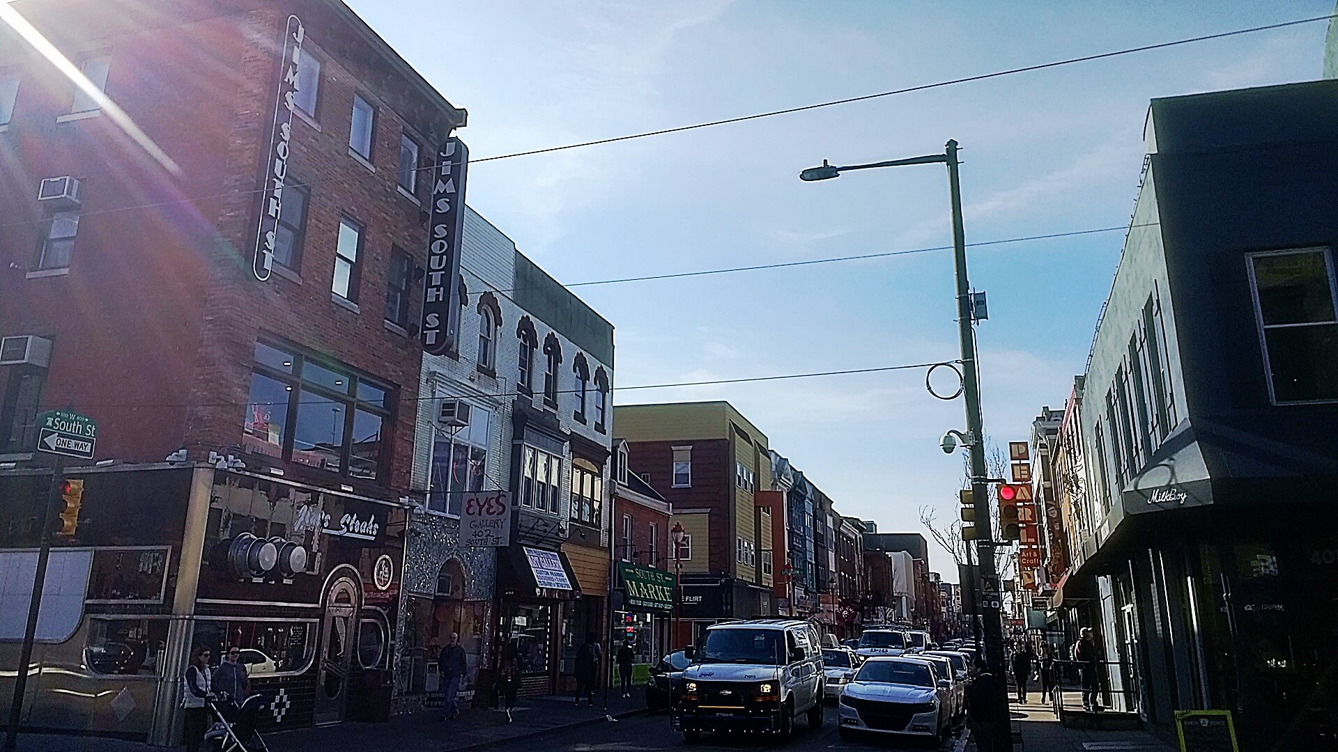 how to open a restaurant in philadelphia — like these ones on South Street